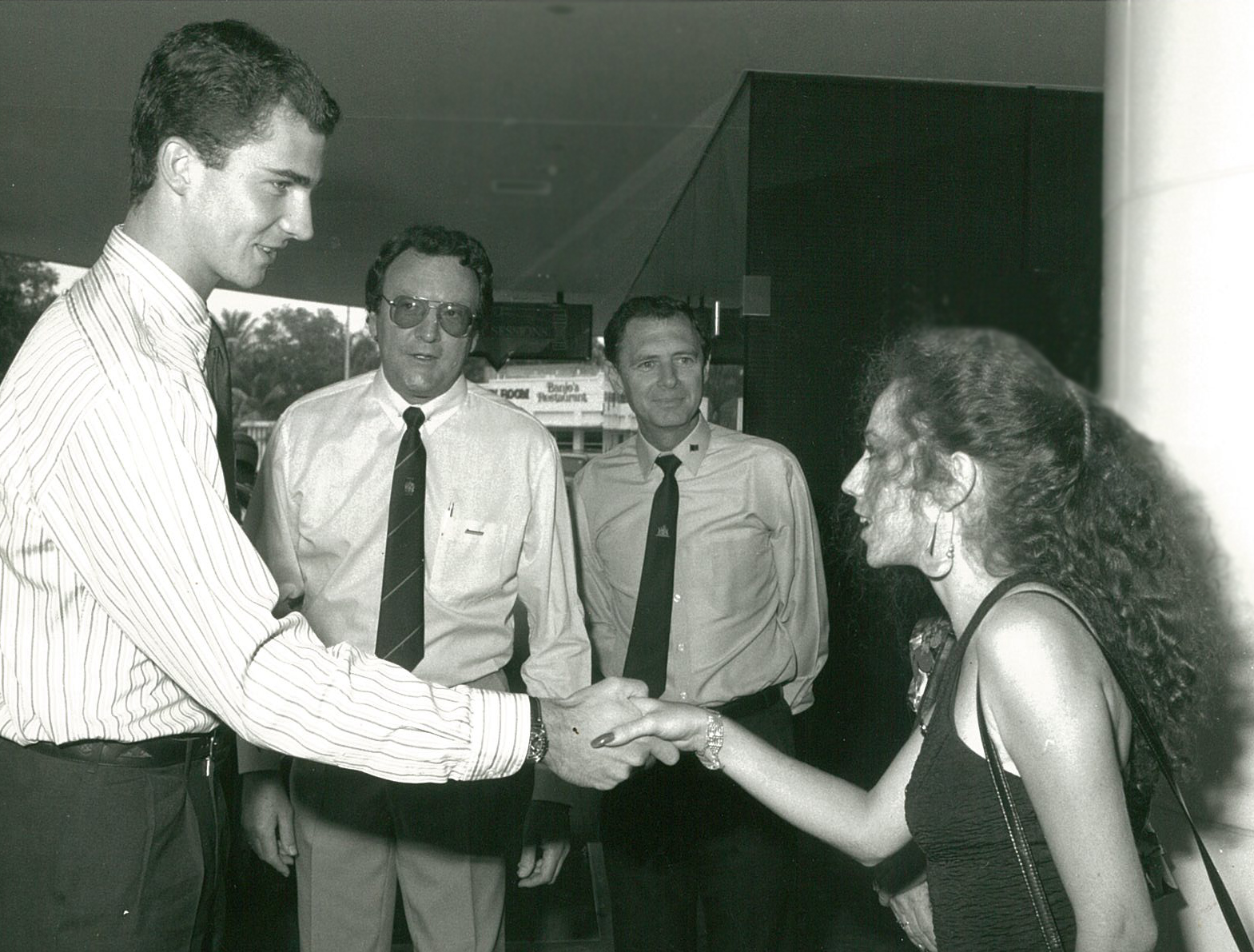 Meeting the King of Spain