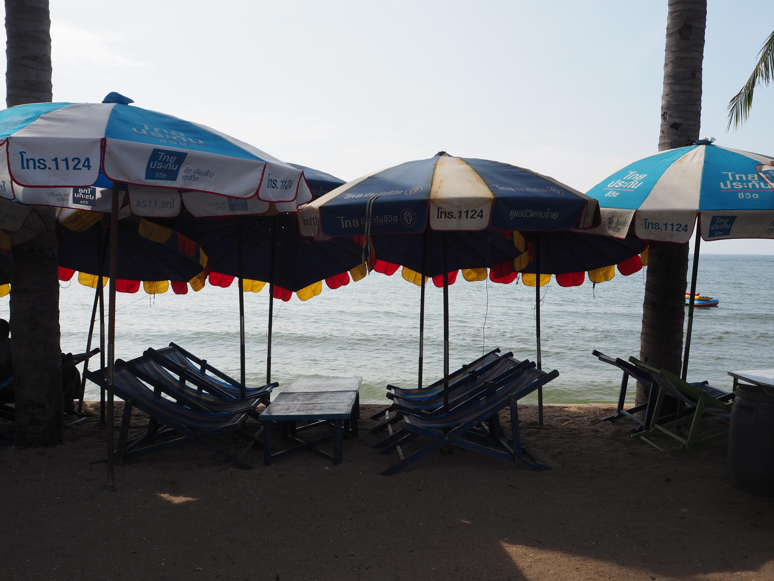 เก้าอี้ชายหาด บางแสน