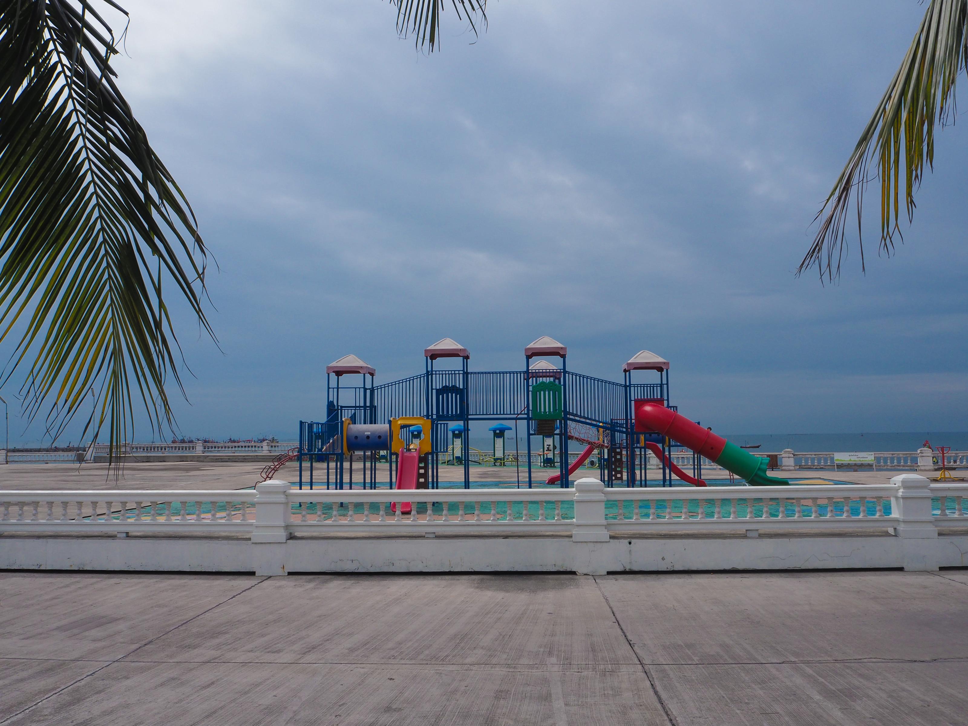 สวนสาธารณะริมหาด
