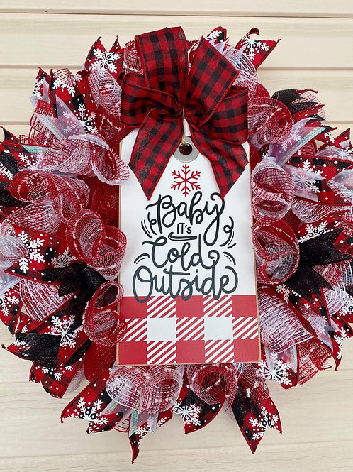 Baby it'a Cold Wreath Set