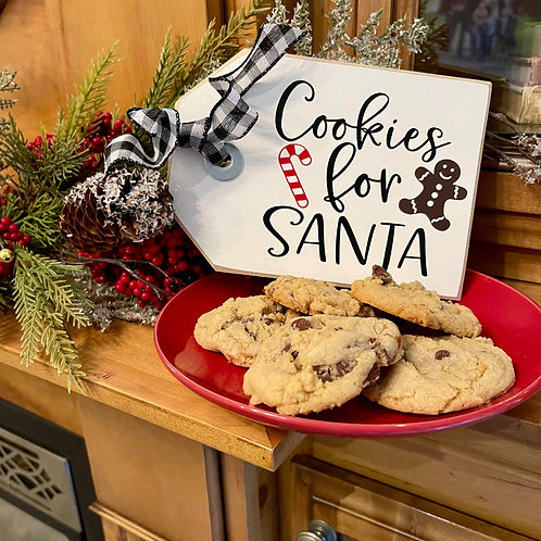 Cookies for Santa (Mini Shelf Sitter)