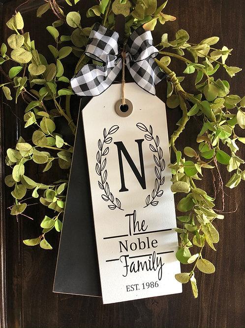 Black and White Family Name