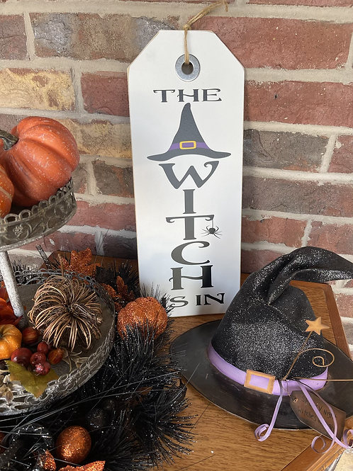 The Witch is in (Large Shelf Sitter)