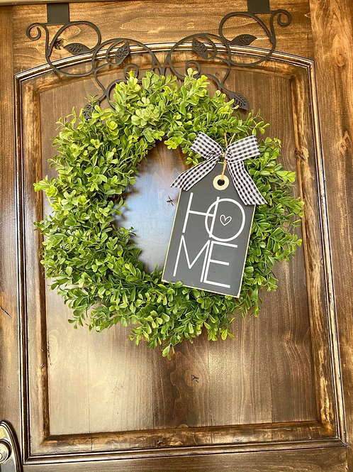Extra Small Home Wreath Snuggler and Wreath