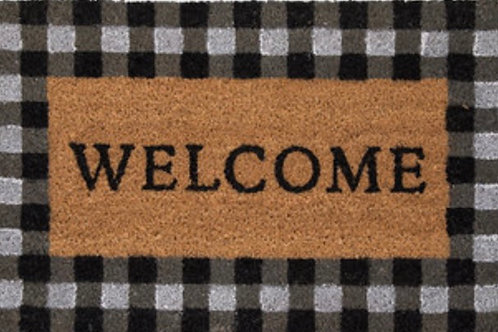 """Welcome"" mat"
