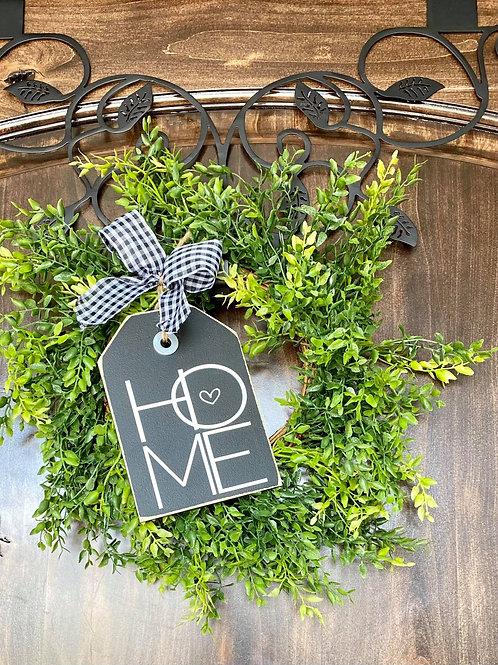 Mini Home Wreath Snuggler and Wreath
