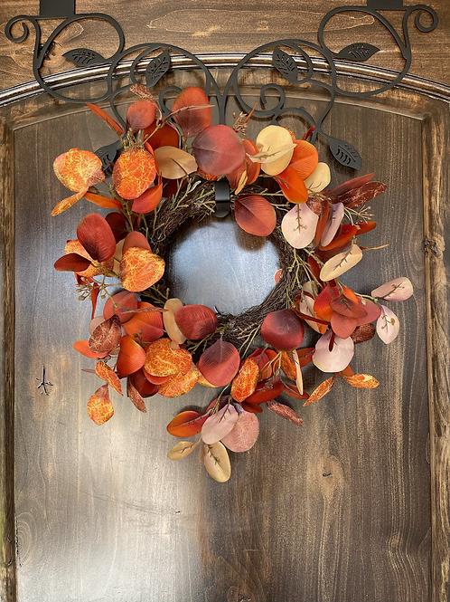 Fall Eucalyptus Wreath  20in