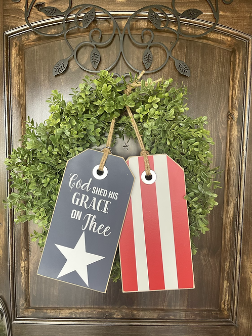 God Shed His Grace: Stars and Stripes