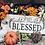 Thumbnail: Grateful, Thankful, Blessed Large Shelf Sitter