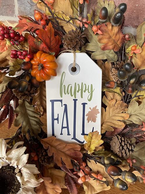 Ex Small Happy Fall Shelf Sitter