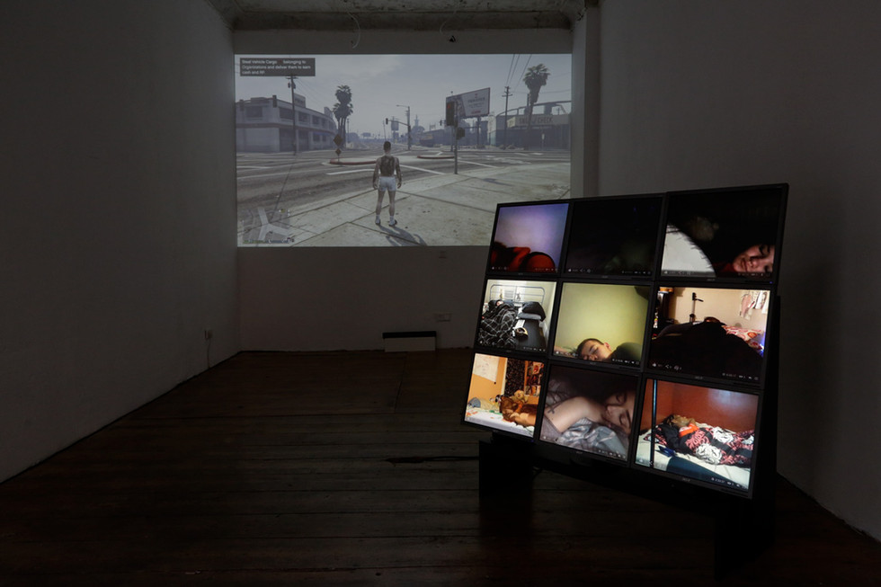 Jonas Blume, Rhythm Zero Los Santos, 2019, video