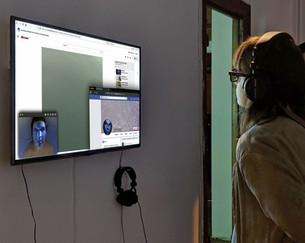 Lauren Moffatt, The Tulpamancer, 2019, immersive video installation