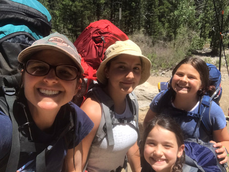 Carney Gals 1st Backpacking Adventure!