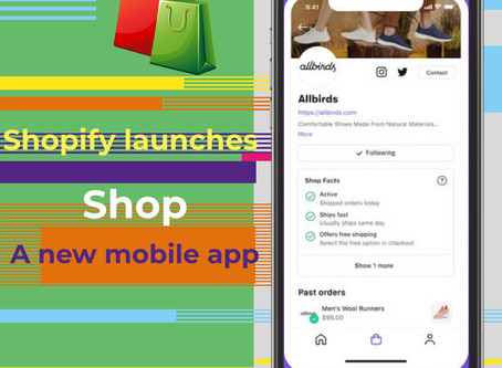 Shopify launches Shop, a new mobile app