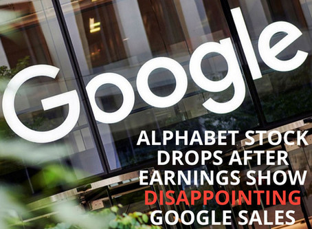 Alphabet stock drops after earnings show disappointing Google sales growth