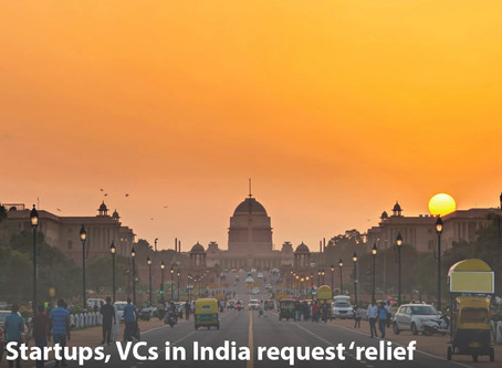 Startups, VCs in India request 'relief package' from the government to fight coronavirus disruption