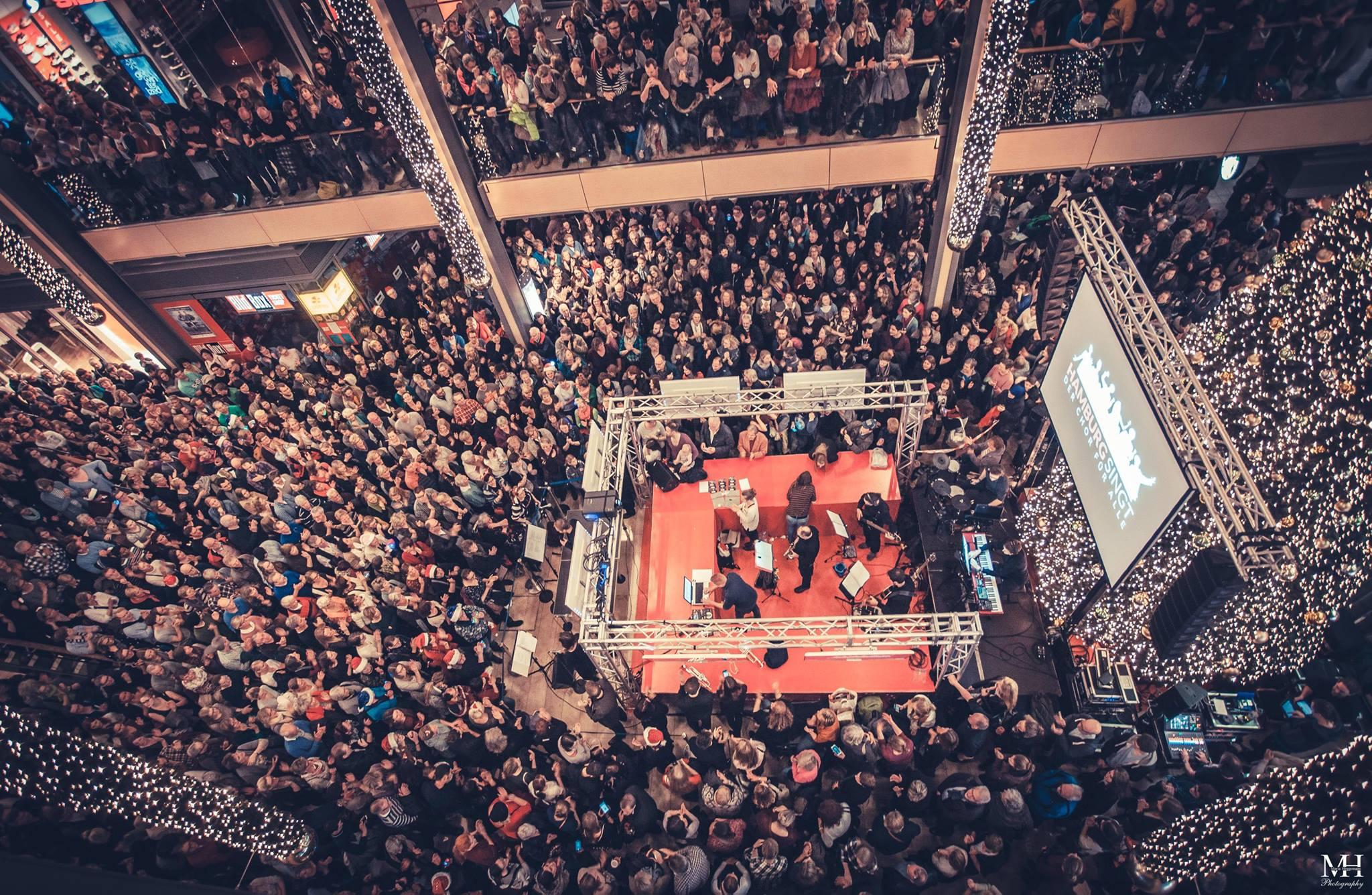 Hamburg Singt Weihnachtssingen 2015
