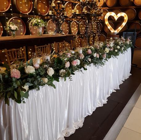 Sandleford Winery Wedding Reception