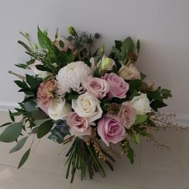 Bridal Bouquet, unstructured posy