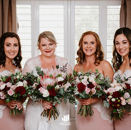 Bride and Bridesmaids, Corals and natives