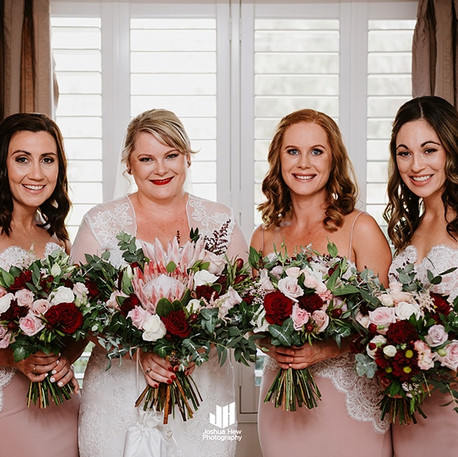 Bride and Bridesmaids, Corals and natives