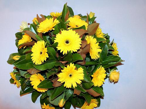 Yellow Full Wreath