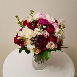 Bridal Bouquet, mixed flowers