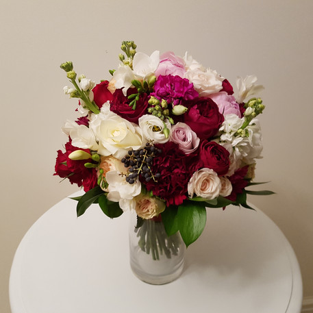 Bridal Bouquet, mixed flowers