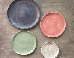 Workshop di piatti ceramici