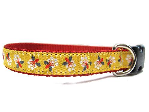 Honeybee 3/4in Dog Collar