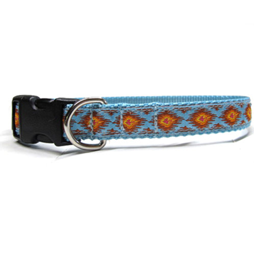 Ikat 3/4in Dog Collar