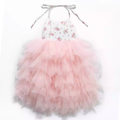 Floral Tier Maxi dress