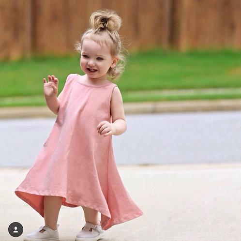 Tania swing dress (pink or grey)
