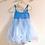 Thumbnail: Blue tutu dress