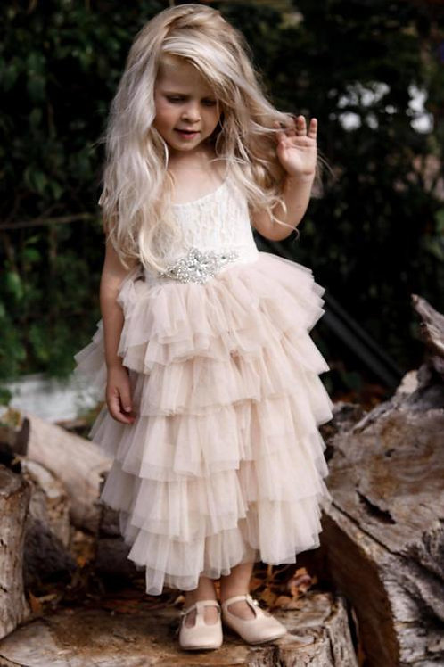 Helena maxi dress (white, pink or champange)