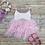 Thumbnail: Helena tulle dress (champange and blush)