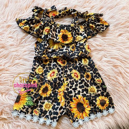 Sunflowers romper