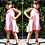 Thumbnail: Tania swing dress (pink or grey)