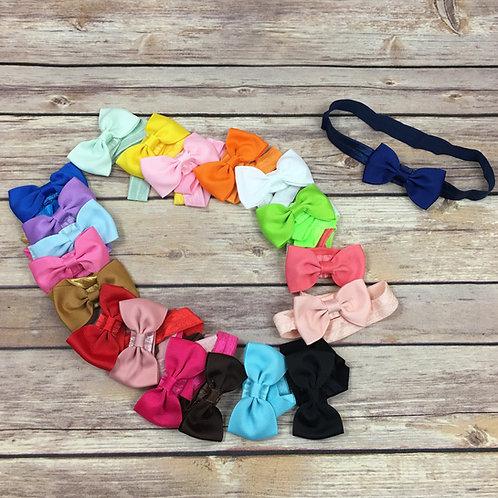 20 pc mini bow headbands