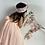 Thumbnail: Peach blossom maxi dress