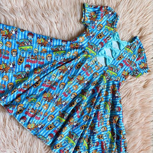 90's Characters twirl dress
