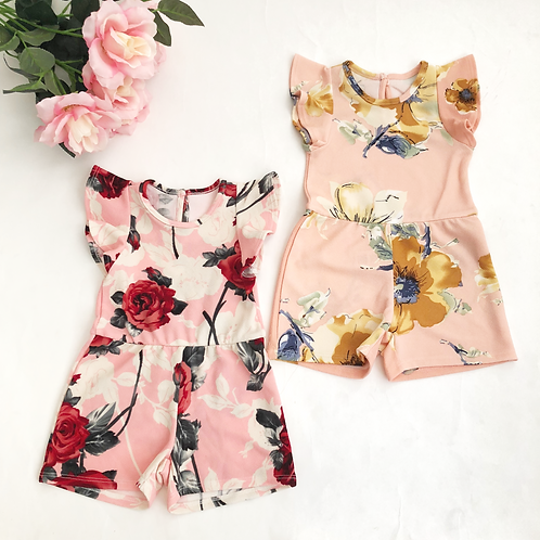 Rosa rompers