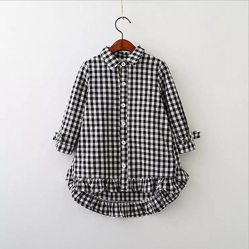 Maddy Plaid dress
