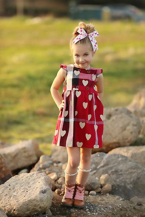 Sweet plaid dress (beige or pink)