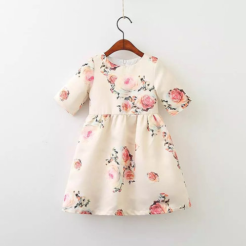 Liana dress (pink or off white)