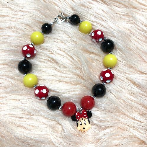 Minnie chunkybeads necklace