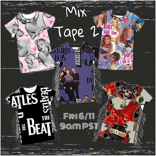 Mix Tape 2 Tee shirt dress