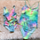 Thumbnail: Neon Tie dye mommy & me suits