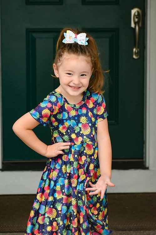 Hello summer twirl dress
