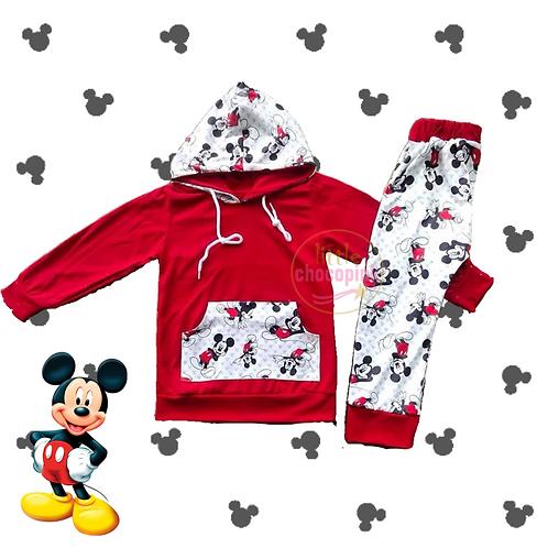 Mickey hoodie set
